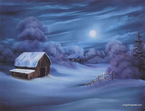 bob ross painting winter 30 best images about painting winter on