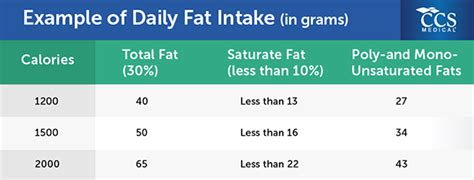 healthy fats daily intake recommended intake of per day gluten free meal plan