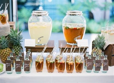 barra bebidas ex 243 ticas y c 243 cteles para boda con ejemplos