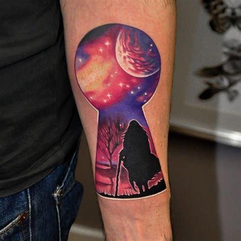 studio 54 tattoo done by jarosław baka tattooist at rock studio
