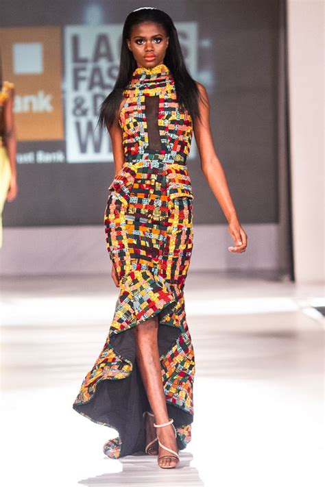 lagos ankara style beatrice black atari at lagos fashion and design week 2013