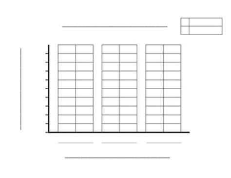 double bar graph template by david grieves teachers pay