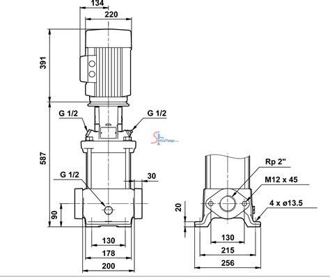 Pompa Vertical Multistage pompa sentrifugal vertical multistage 5 5 kw cr20 5 sentral pompa solusi pompa air rumah dan