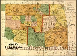indian territory map opinions on oklahoma territory