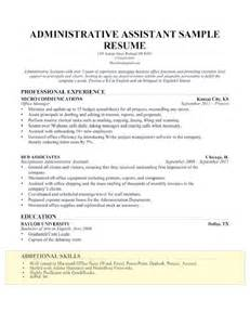 Resume Exles With Skills Section by How To Write A Skills Section For A Resume Resume Companion