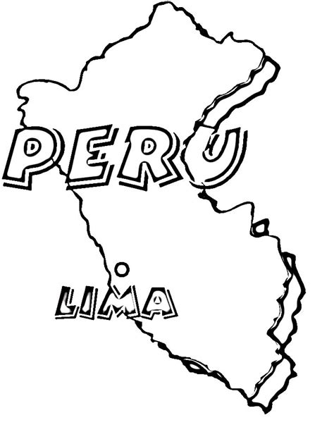 Best Photos Of Peru Coloring Pages Printable Peru Peru Coloring Pages