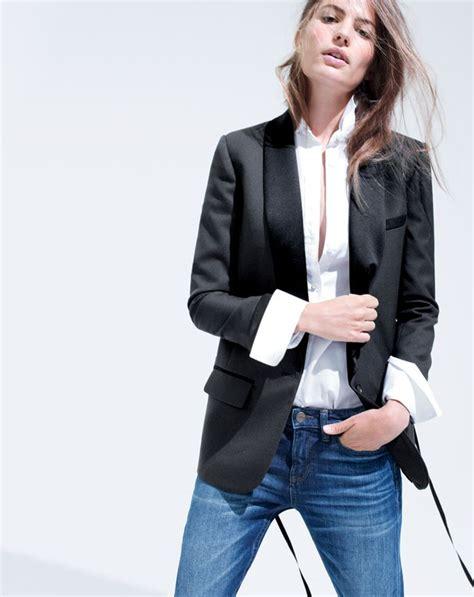 Trend Alert The Tuxedo Blazer by J Crew S Collection Shawl Collar Tuxedo Blazer To