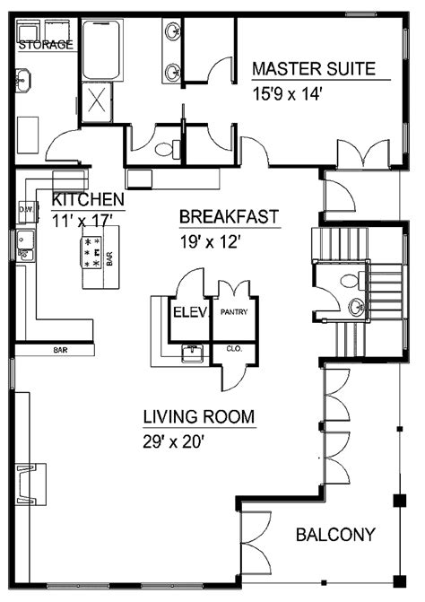 floor plans with stairs house plans with steps home deco plans