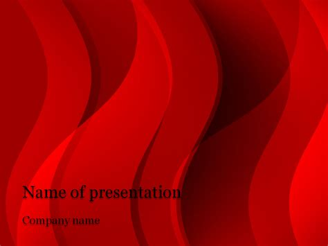 free powerpoint presentation template free waves powerpoint template for your