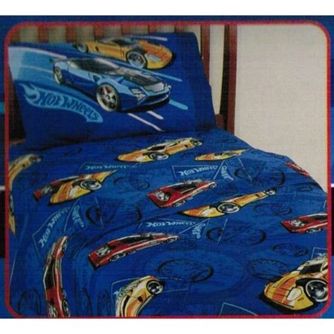 Hot Wheels 3 Piece Twin Sheet Set Reviews Sheets Bedding Wheels Bedding