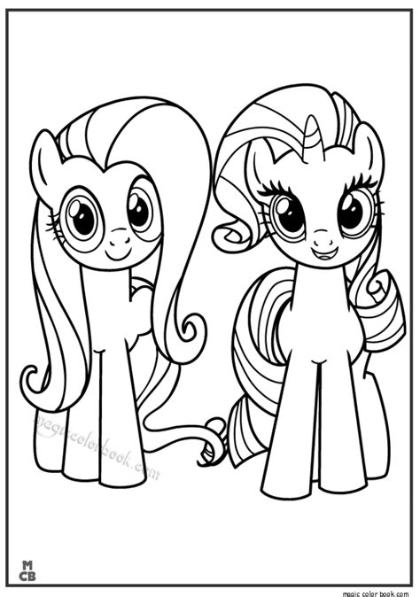 coloring pages of my pony rarity spectacular equestria fluttershy coloring pages with