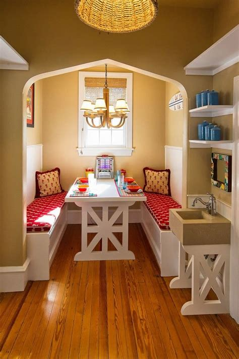 arrange  adorable breakfast nook   kitchen