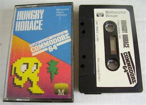 commodore 64 cassette hungry horace review at simplyeighties