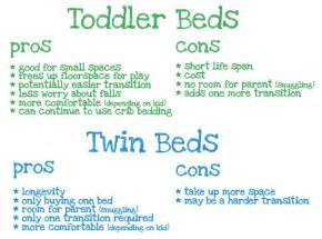 Toddler Bed Vs Size Bed The Great Toddler Bed Debate Reader Intelligence Report