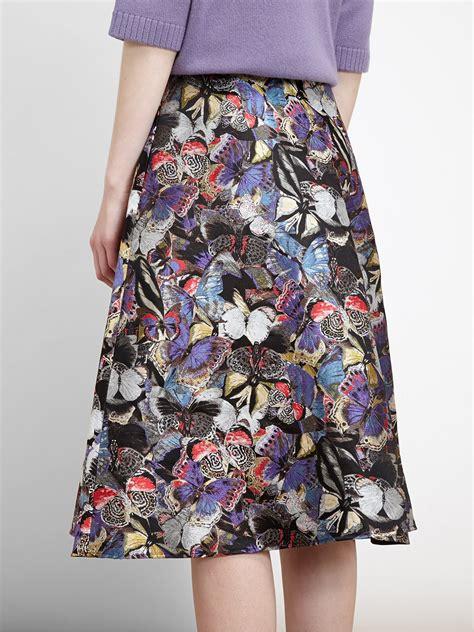 Brocade Skirt lyst valentino butterfly brocade skirt