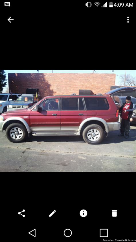 mitsubishi montero xls 2000 mitsubishi montero sport xls cars for sale
