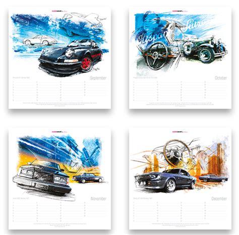 art design kalender new york classiccar art kalender classic car art