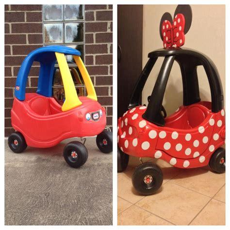 minnie cars diy minnie mouse car i made newborn stuff