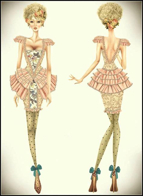 fashion layout inspiration rococo inspiration fashion by twishh on deviantart