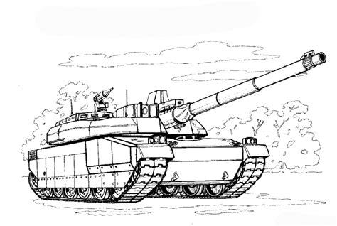 The Tank Coloring Pages ausmalbilder zum drucken malvorlage panzer kostenlos 3
