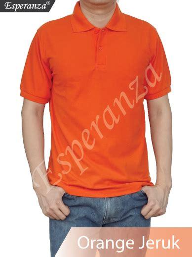 Kaos Polos Orange Xl kaos polos jual kaos polos grosir