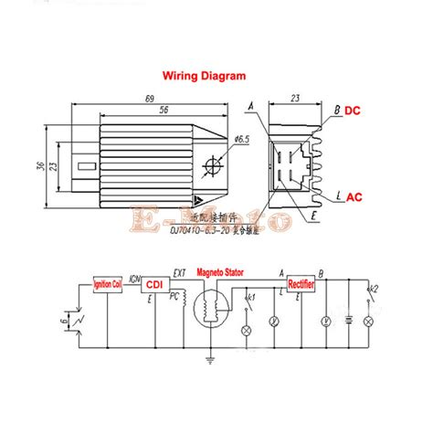 4 pin regulator rectifier wiring diagram simple wiring
