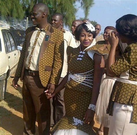 Wedding Attire For Couples by Shweshwe Wedding Attire For Couples