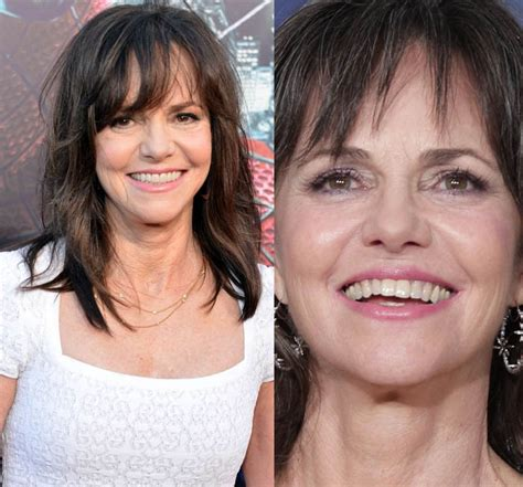 Celebs Who Havent Had Neck Lifts | did sally field get plastic surgery looks young with
