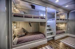 in wall bunk beds 4 bunk beds country boy s room magnolia homes