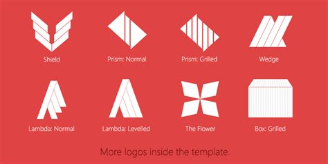 logo templates for photoshop free clean photoshop logo template demo by softboxindia on
