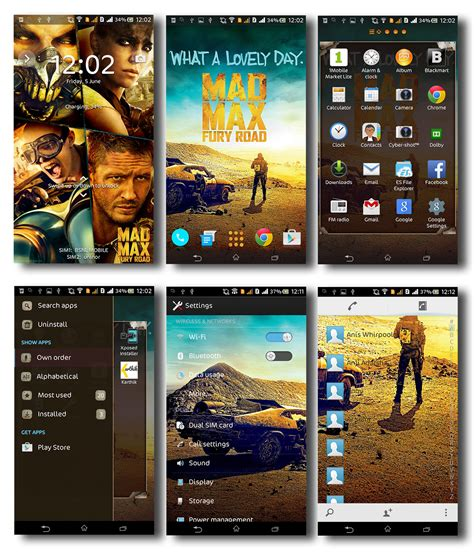 naruto themes for xperia c port xperia mad max theme for sony xperia c
