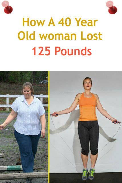 weight loss 40 year how a 40 year lost 125 pounds weight loss