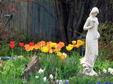 flower garden statues wynken blynken and nod the seeds of expectation