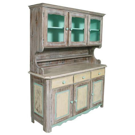 credenza vetrina shabby chic buffet sideboard display cabinet credenza