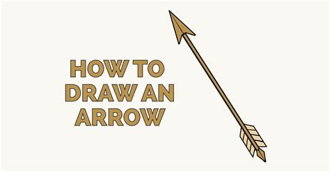 how to draw simple arrow wave how to draw an arrow really easy drawing tutorial