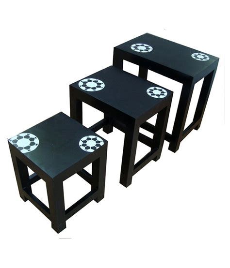 Set Of Stools by Nest Of Stools Set Of 3 Buy Rs Snapdeal