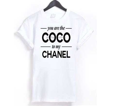 Coco Channel You Tshirt coco to chanel the shop