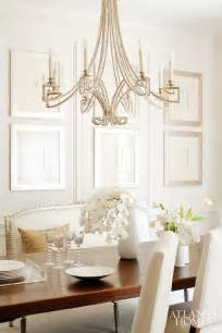 chandelier transitional dining room atlanta