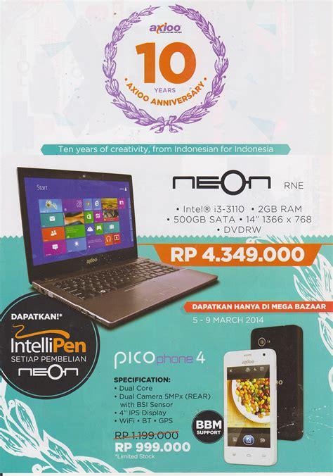 erafone asus fonepad mega bazaar consumer show 2014 promo murah smartphone