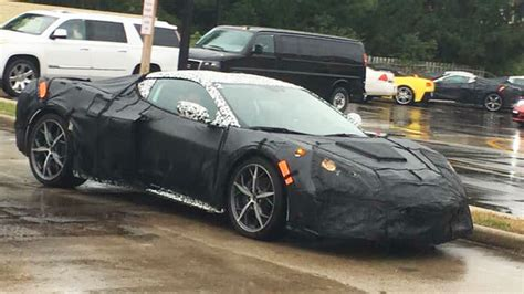 Northern Lights In Michigan Come On Guys This Is Totally The Mid Engine Corvette