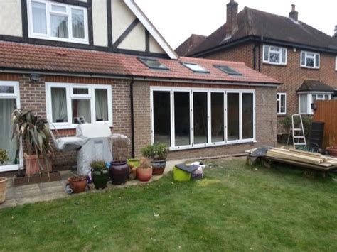 Kitchen Doors Design Gallery Extensions Bifold Doors On Rear Extension