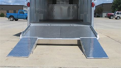 how to inclose weave car trailer options featherlite trailers