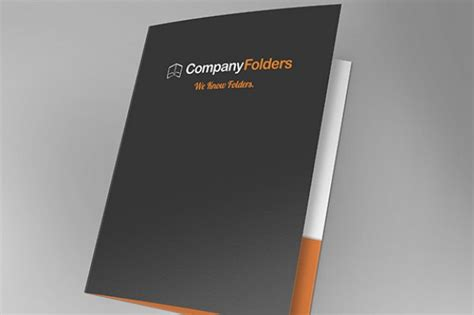 Front Open Folder Mockup Template Free Psd Psd File Free Download Free Folder Mockup