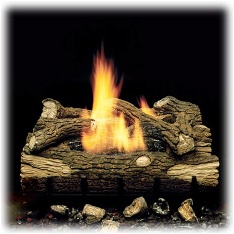 Ventless Fireplace Gas Logs by Monessen Mountain Oak Ventless Gas Logs Lp Ventless