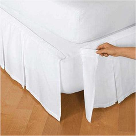 how to put on a bed skirt pin by todo para tu fiesta on guest room pinterest