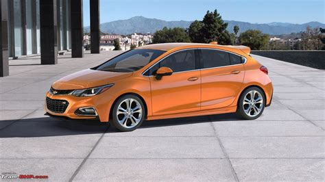 the new chevrolet cruze all new chevrolet cruze hatchback revealed team bhp