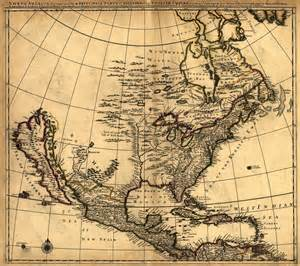 historical maps of united states map of united states in 1600 s