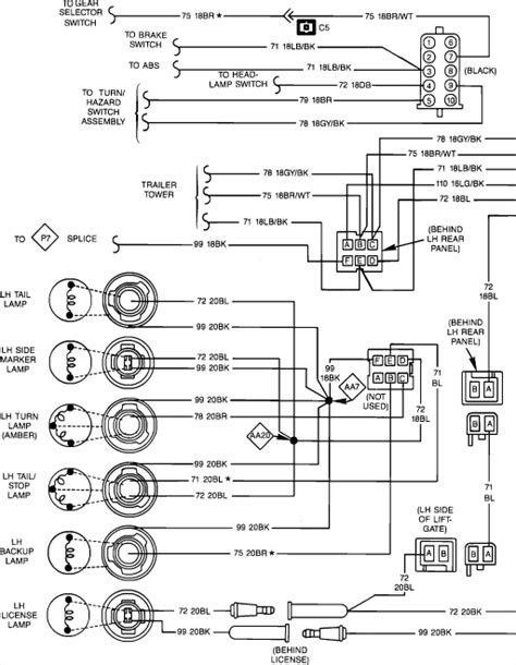 95 wrangler wiring diagram lights 33 wiring diagram