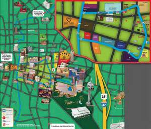 riverwalk san antonio map of restaurants