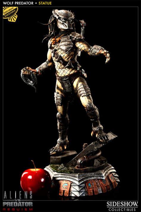 Predator Statue predator wolf predator polystone statue by sideshow collecti sideshow collectibles